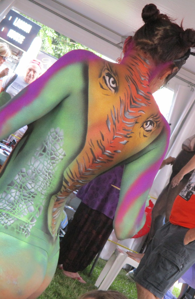 Body Art   At  the Australian Body Art Festival  Cooroy by 777margo