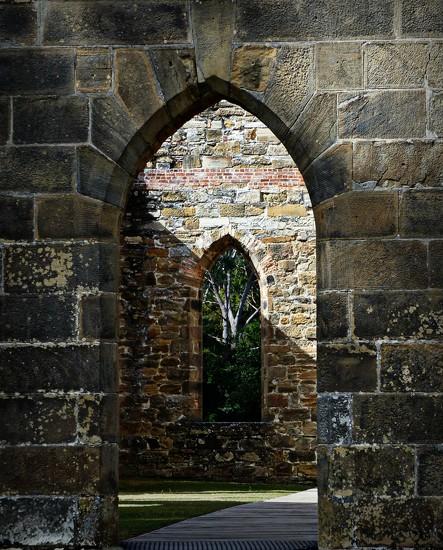 Through the arches Port Arthur by judithdeacon