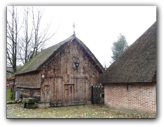 barn with weather vane by gijsje
