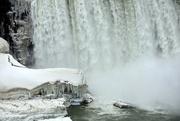 8th Apr 2018 - Still lots of ice at Niagara Falls today