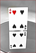 8th Apr 2018 - Four Of Hearts.