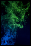 9th Apr 2018 - Playing with Smoke