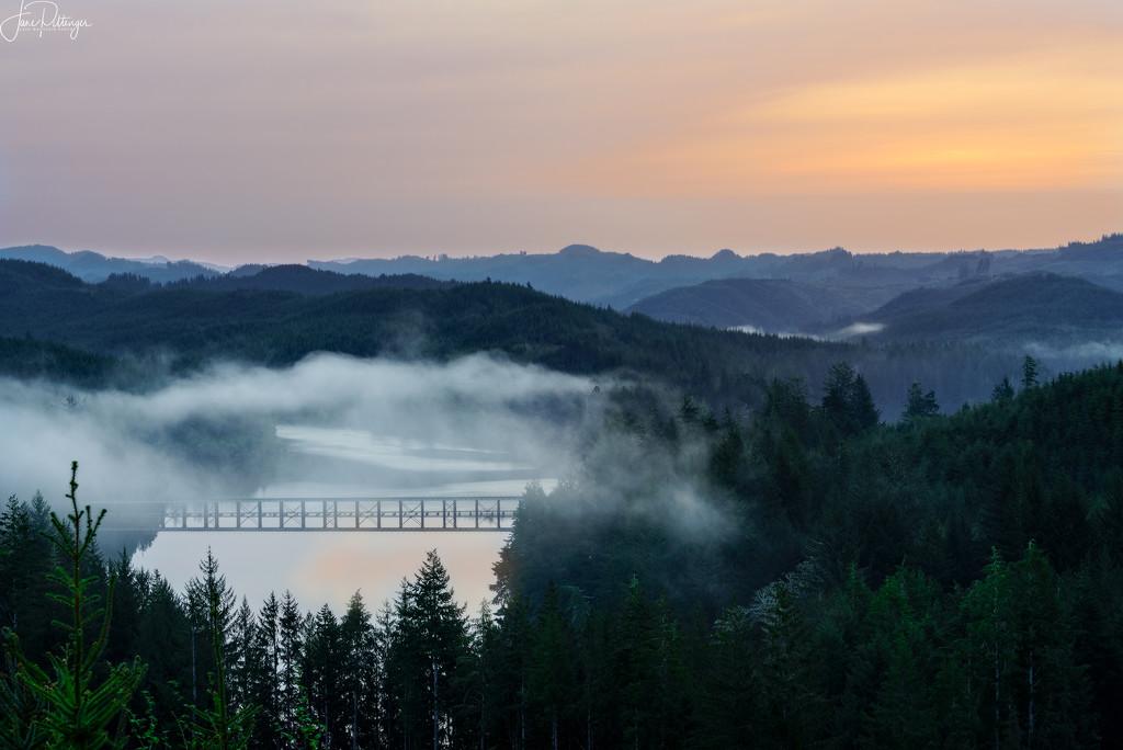 Sunrise Over Tahkenitch by jgpittenger