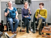 8th Apr 2018 - Three clarinets