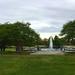 The fountain at Hampton Park, Charleston, SC