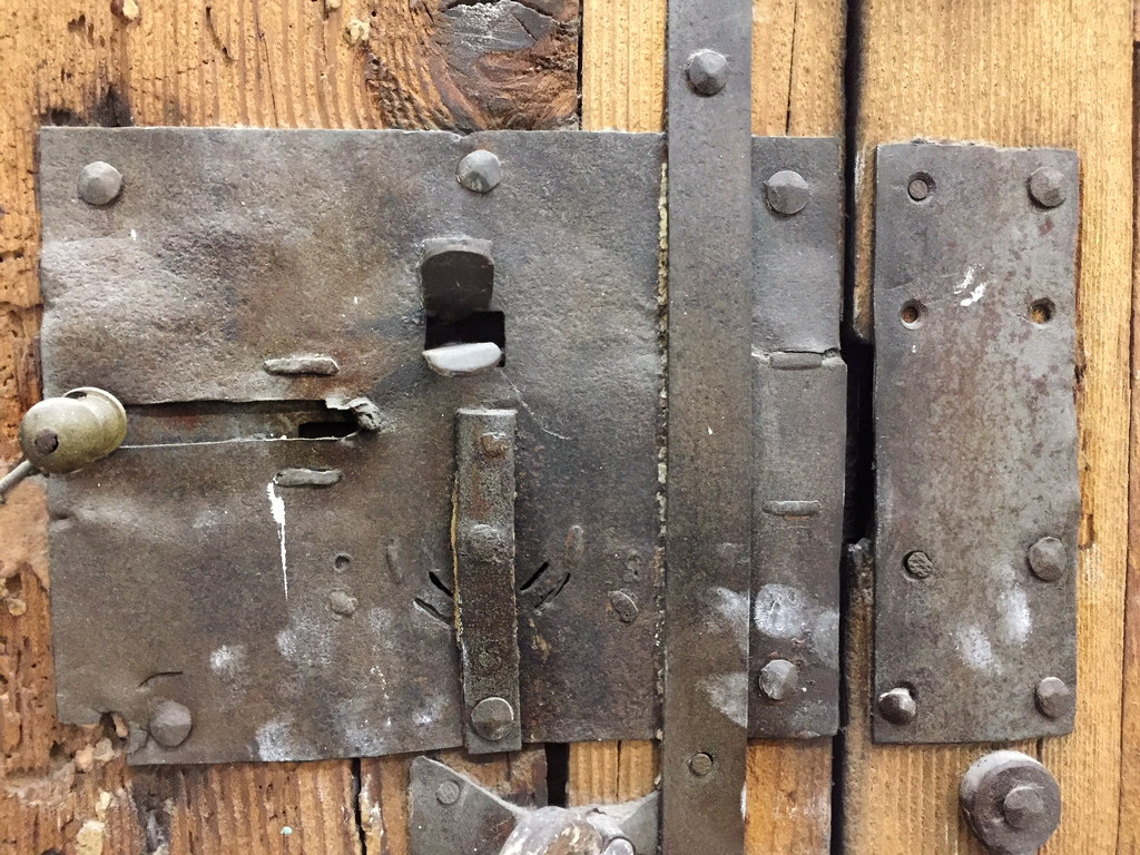 an old lock  by caterina