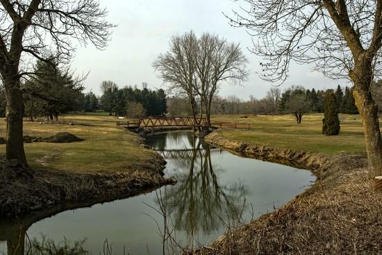 April Words - Reflection by farmreporter