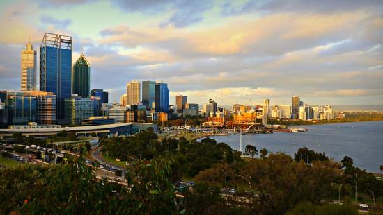 Perth City at Dusk by judithdeacon