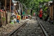 9th Apr 2018 - Life on the rail tracks (1)