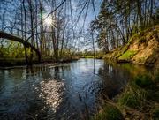 14th Apr 2018 - Rawka river in spring time