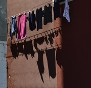 12th Apr 2018 - laundry and shadows