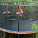 Rainy Day Trampoline Play