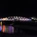 Ramsey IOM:  Technicolour Swing Bridge