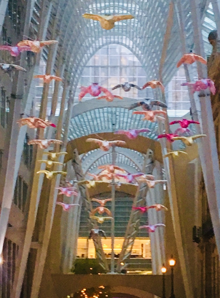 Birds in the Atrium by chloette
