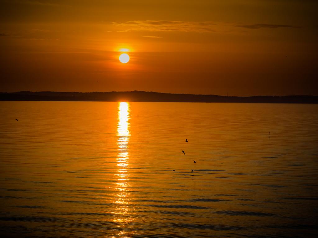 An evening calm by haskar