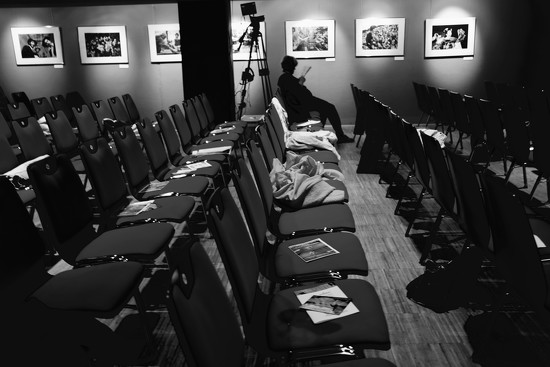 at the theatre - b&w by vincent24