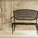 Bench in Sepia