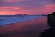 19th Apr 2018 - Pale pink sunrise at Waikuku Beach