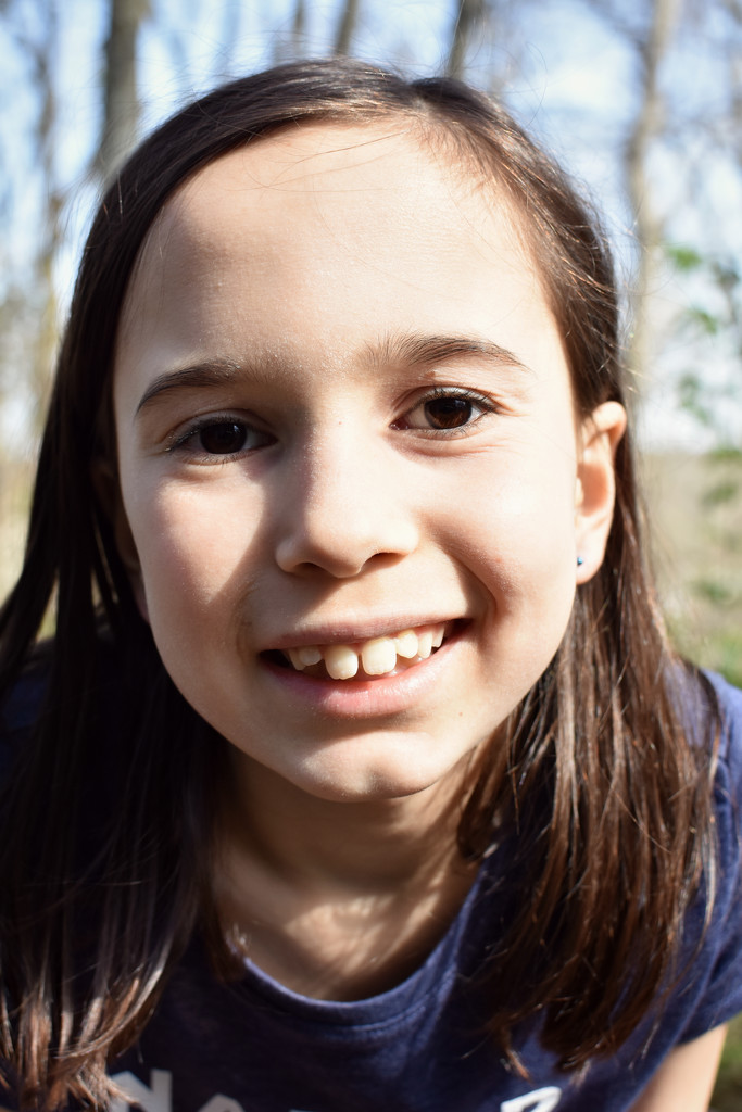 A Third Grader's Smile by alophoto