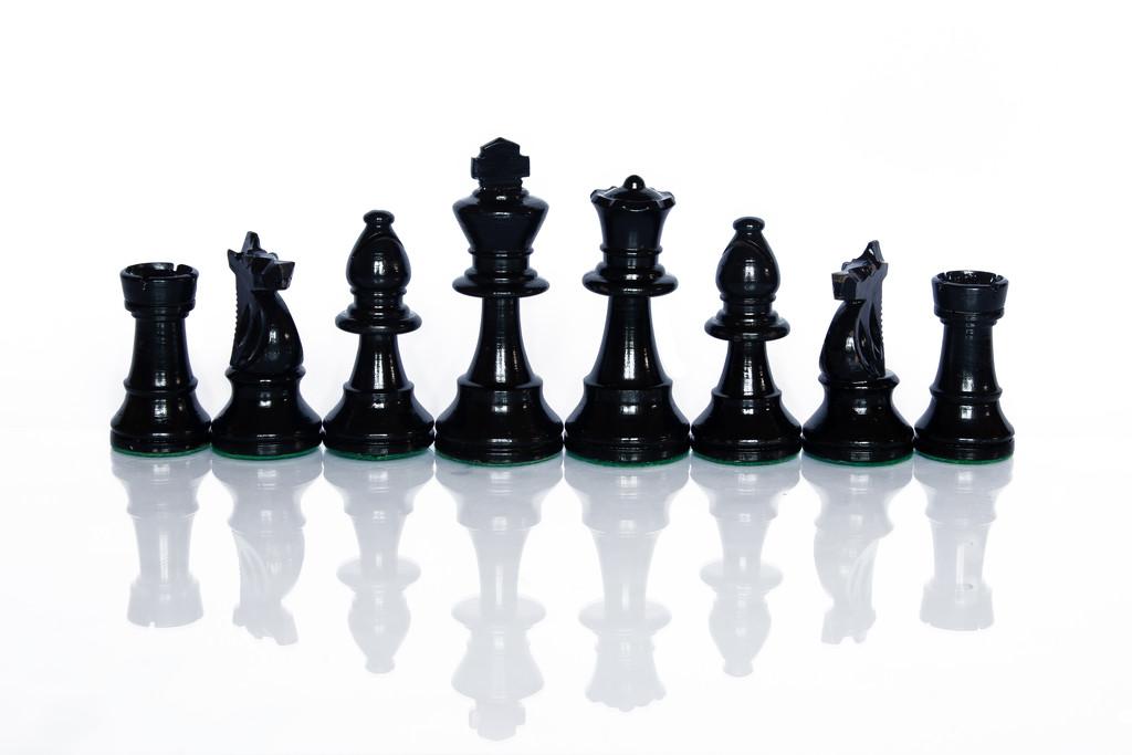 Chess Pieces by salza