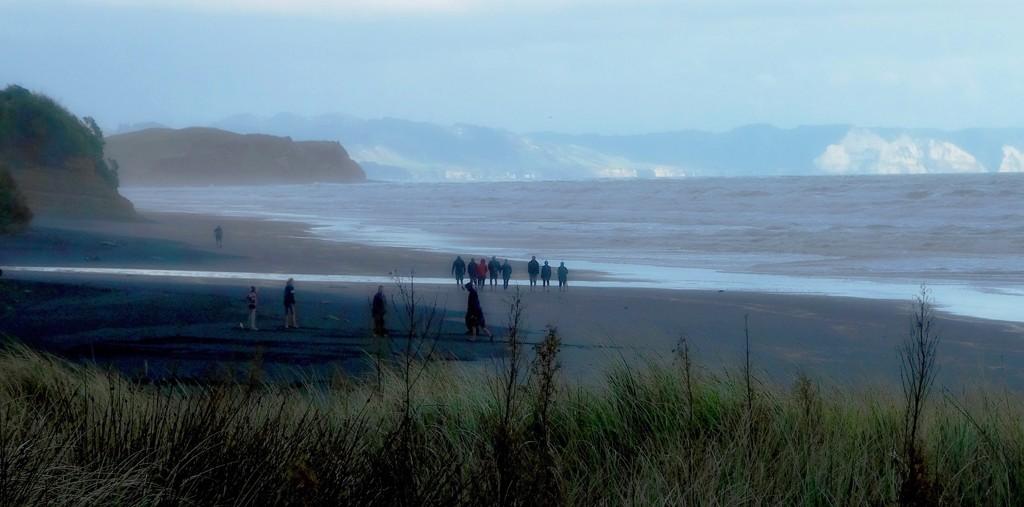 Beach Walkers by maggiemae