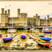 Caernarfon Castle At Low Tide