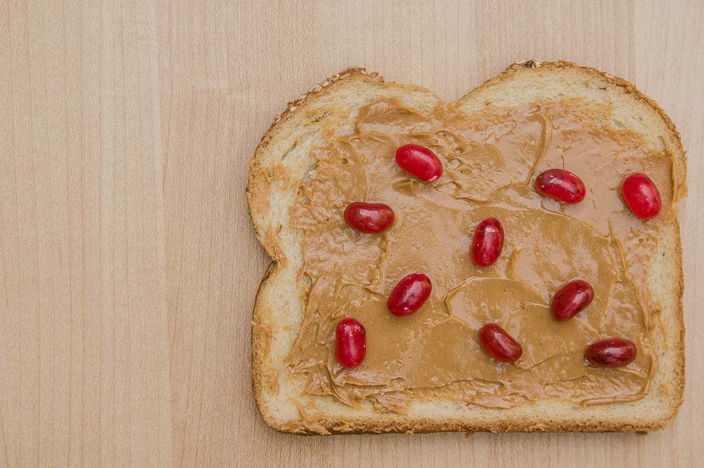 (Day 66) - Peanut Butter & Jelly Beans by cjphoto