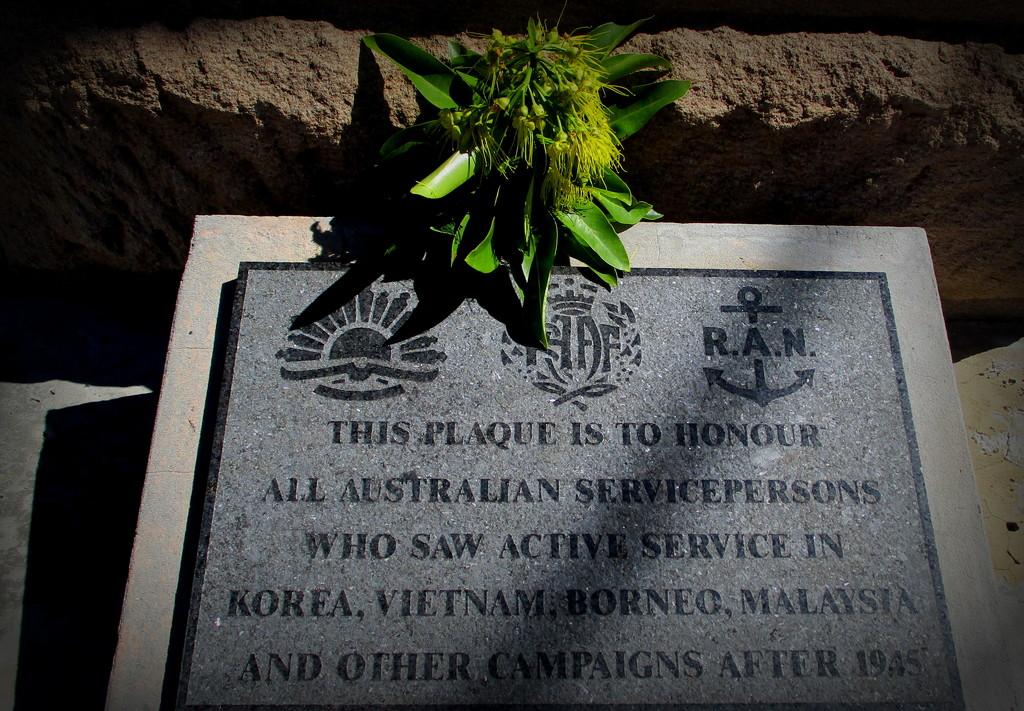 Pre-ANZAC DAY  Memorial by 777margo