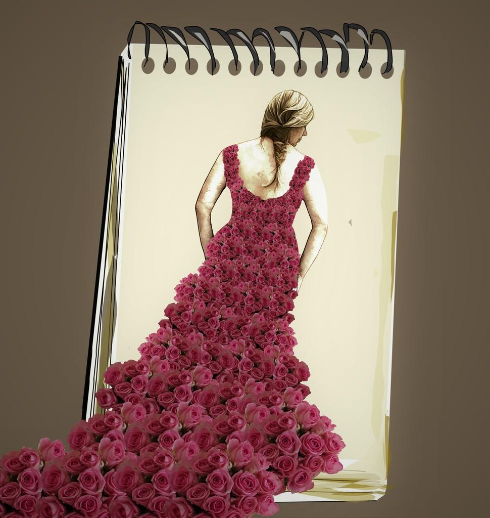 Designer dress by suzanne234