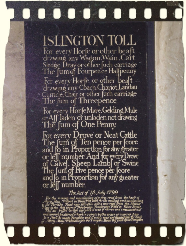 For whom the Islington Tolls by ajisaac