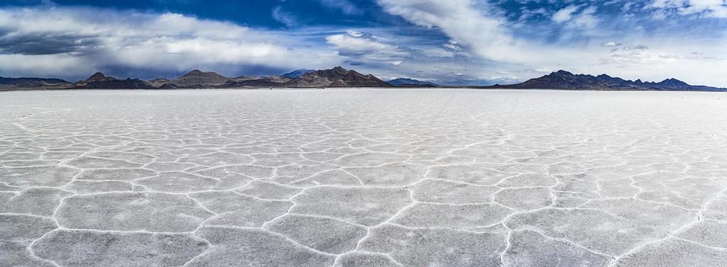 Bonneville Salt Flats by domenicododaro