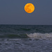 Moonrise Over the Atlantic Ocean! by rickster549