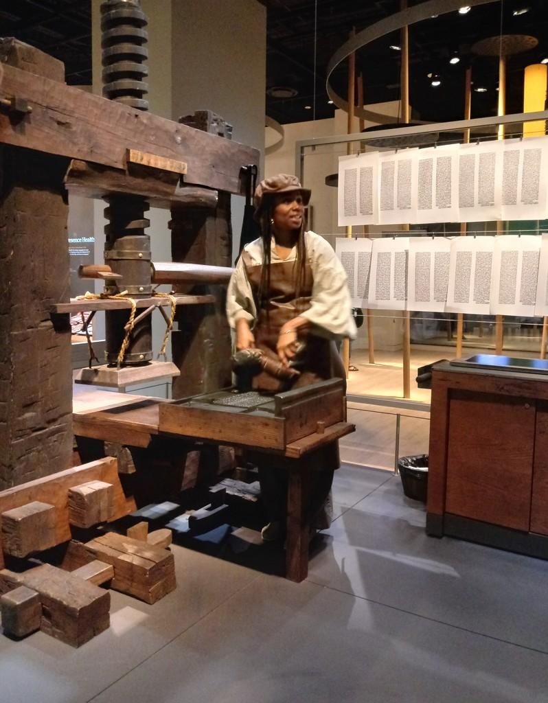 Gutenberg Press by lynbonn