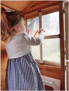 29th Apr 2018 - Sophia in the playhouse!