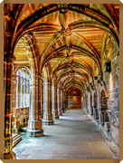 1st May 2018 - The Cloisters,Chester Cathedral  (best viewed on black)