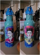 3rd May 2018 - Frida Kahlo Water Container