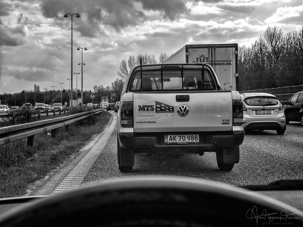 Involuntary motorway parking by atchoo