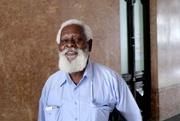 2nd May 2018 - Maputo man at the train station