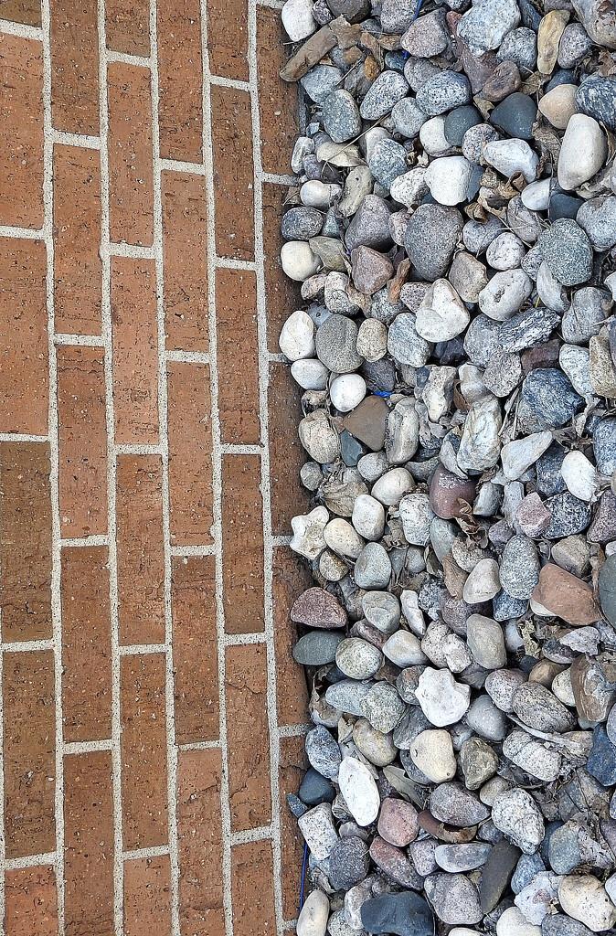 Half brick, half rocks by homeschoolmom