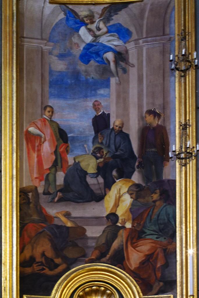 Pozzo - L'invio di San Francesco Saverio nelle Indie by domenicododaro