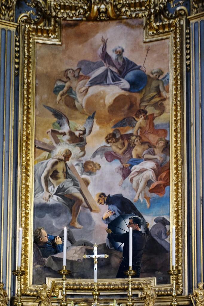 Pozzo - La visione di S. Ignazio by domenicododaro
