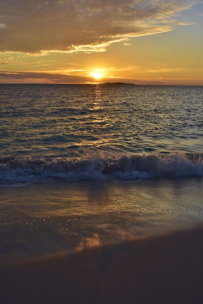 A Sunset Beach Walk_DSC7836 by merrelyn