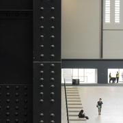 4th May 2018 - Half & half - Tate Modern