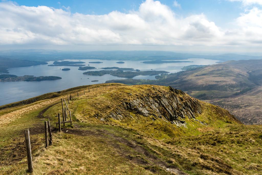 Loch Lomond from Beinn Dubh, Luss, Scotland. by iqscotland
