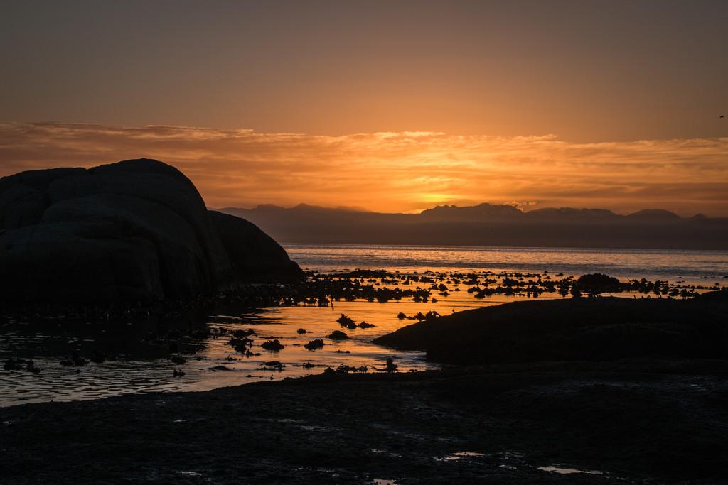 Sunrise at Simonstown by mv_wolfie