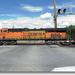 BNSF 6733 ES44C4