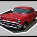 3052-0511 1957 Chevy Bel Air