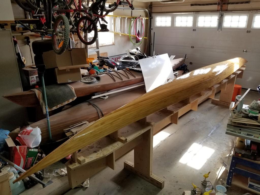 Kayak Build II (11) - First Coat of Resin by schmidt