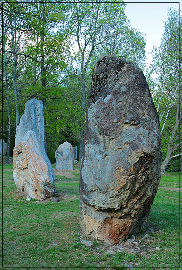 Monoliths at Columcile by olivetreeann