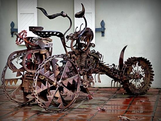 bike sculpture by judithdeacon